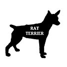 rat terrier name silhouette by marasdaughter