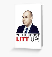Louis Litt Greeting Card