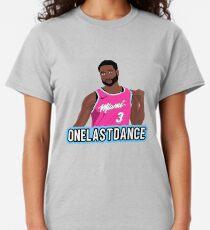 D Wade One Last Dance Classic T-Shirt