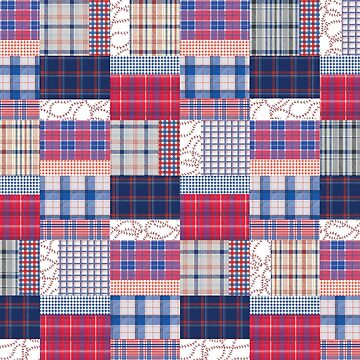 Baseball Patchwork by cmanning