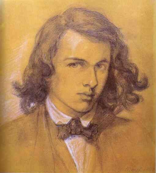 Art hero Dante Gabriel Rossetti by tim norman