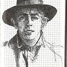 Sketchbook, Portrait by Cameron Hampton
