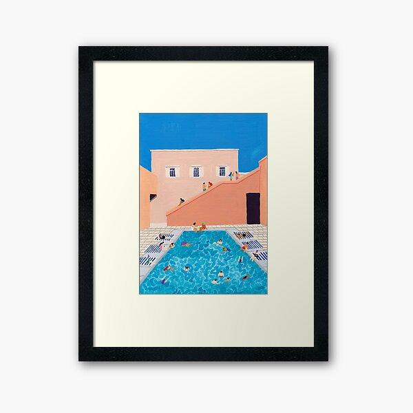 Gathering Framed Art Print