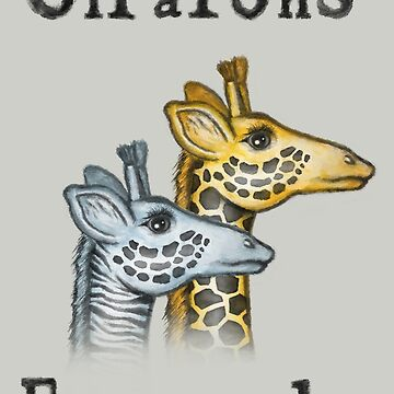 Girafons Ensemble by Sunflow
