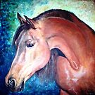 Arabian Stallion 2 by Joseph Barbara