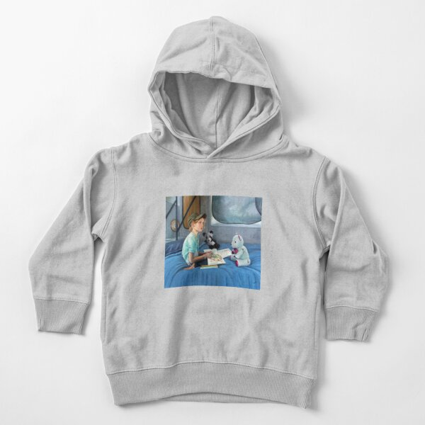 Lucy 3 - Oil on canvas by Avril Thomas Toddler Pullover Hoodie