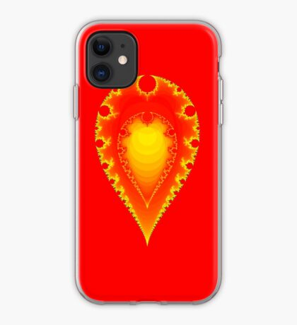 Inverted Mandelbrot II iPhone Case
