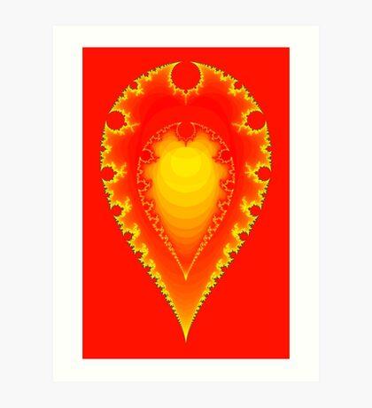 Inverted Mandelbrot II Art Print