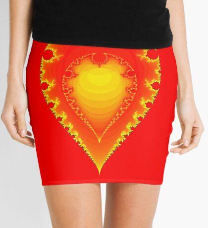 Inverted Mandelbrot II Mini Skirt