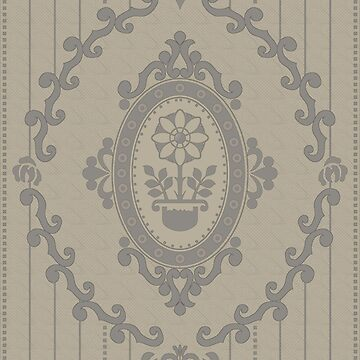 Barock Tapete in Dull Pastel von pASob-dESIGN