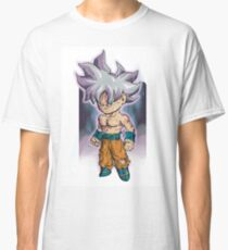 best fan art goku ultra instinct Classic T-Shirt