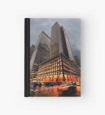 Wet and Cold Hardcover Journal