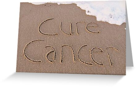 "Cure Cancer card by Lenora ""Slinky"" Ruybalid"