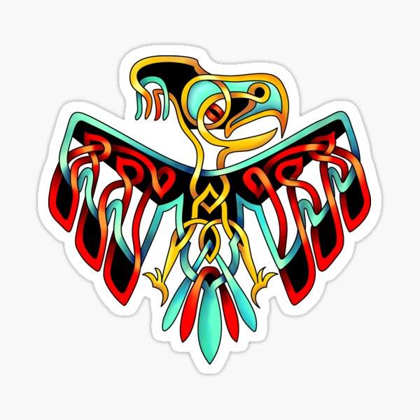 Celtic Knot Thunderbird Sticker