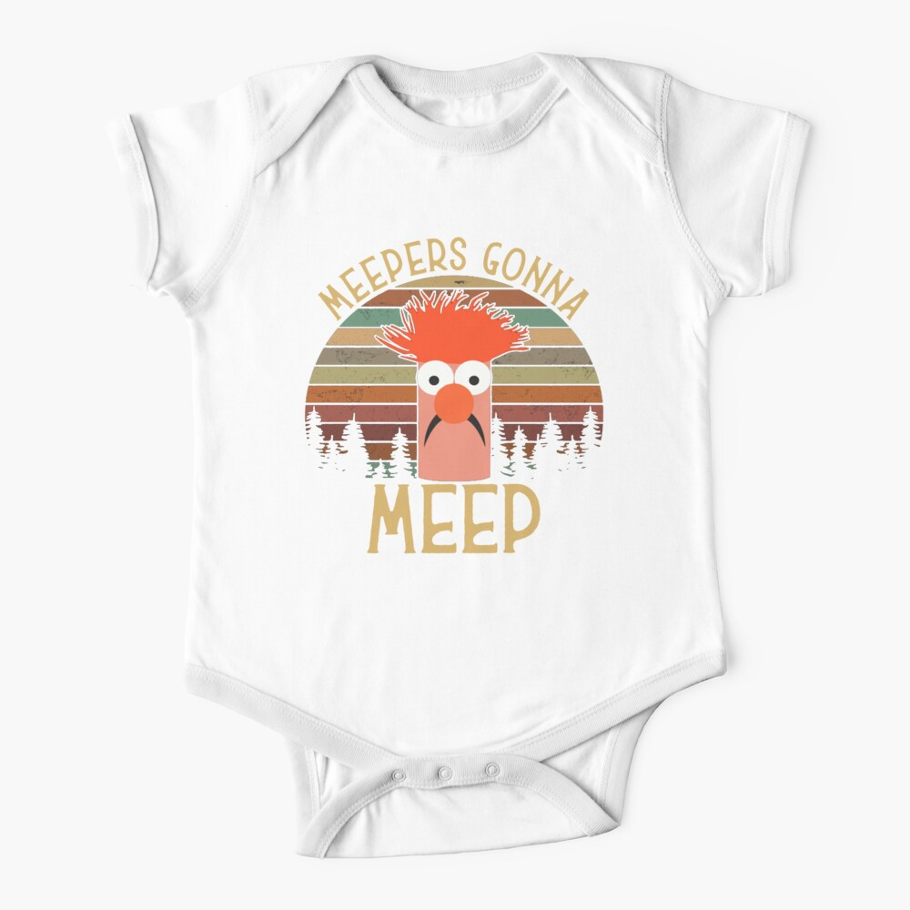 The muppet show beaker meepers gonna meep Baby One-Piece