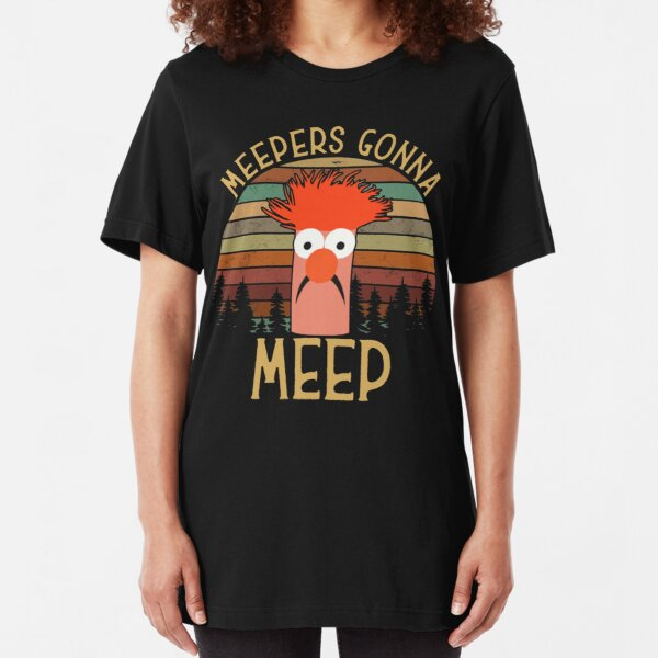 The muppet show beaker meepers gonna meep Slim Fit T-Shirt