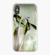 Subtle Snowdrop iPhone Case