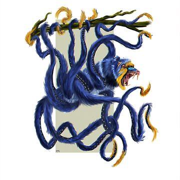 Octopus ape de Bertoni-Lee