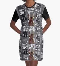Dog Graphic T-Shirt Dress