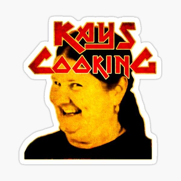 KAYS COOKING Sticker