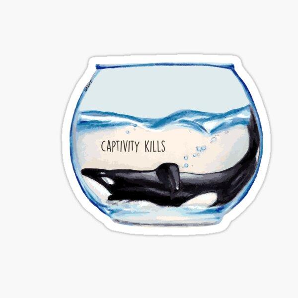 Captivity Kills Sticker
