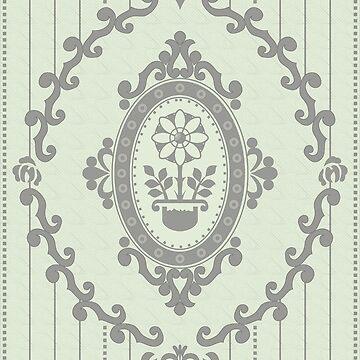Barock Tapete in Pastel von pASob-dESIGN