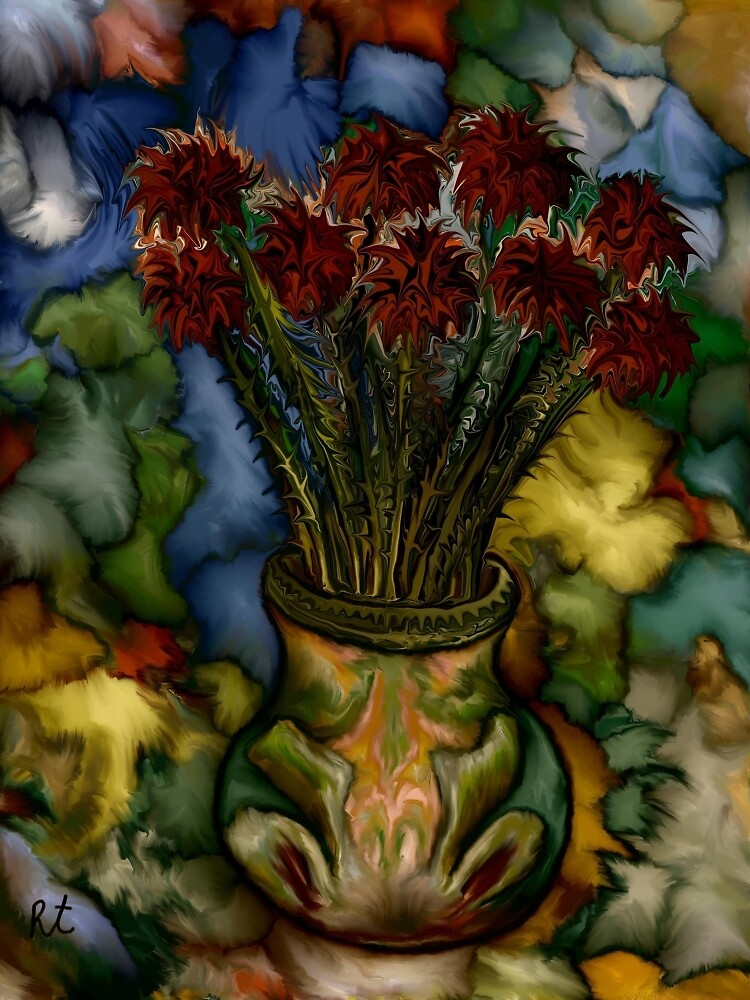 Flower Vase by rafi talby by RAFI TALBY