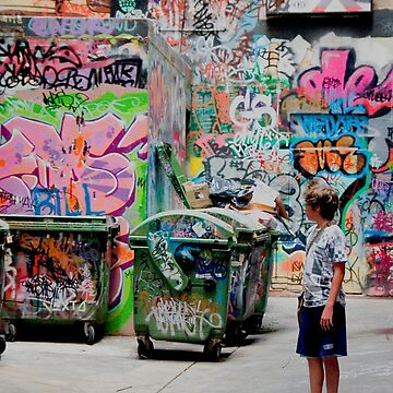 Graffiti Alley by MarylouBadeaux