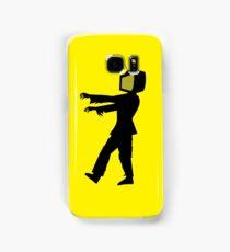 Zombie TV Guy by Chillee Wilson Samsung Galaxy Case/Skin