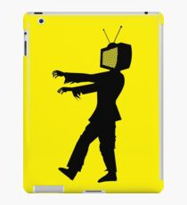 Zombie TV Guy by Chillee Wilson iPad Case/Skin