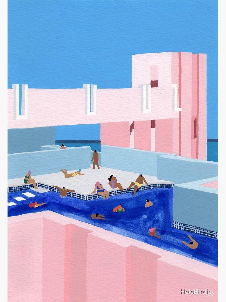 Spain Pool by HeloBirdie