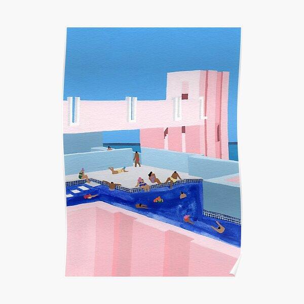 Spain Pool Poster