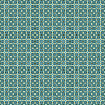 Blättermuster in Blau von pASob-dESIGN