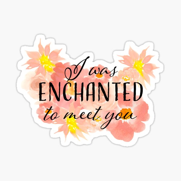 Enchanted Taylor Swift Lyric Sticker