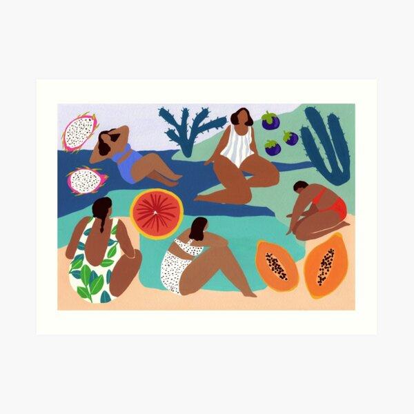 Fruity bay Art Print