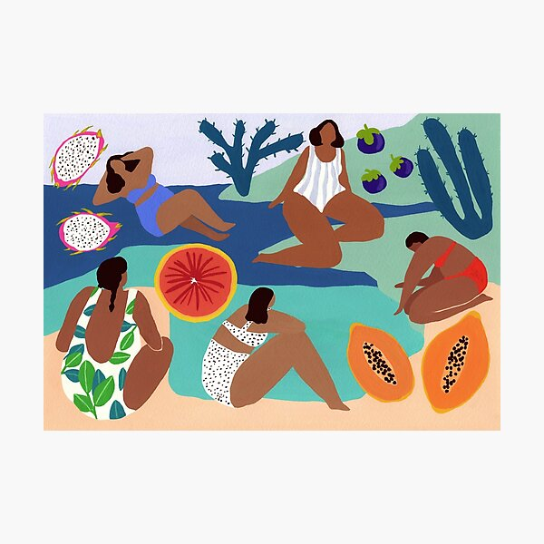 Fruity bay Photographic Print