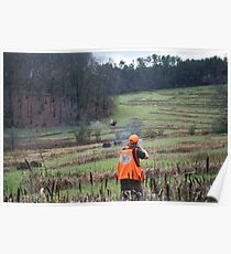 BIRD HUNTER BRINGS DOWN PHEASANT   Poster