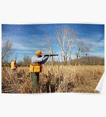 TAKING AIM ON BOB WHITE QUAIL Poster