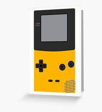 GameBoy Color Greeting Card