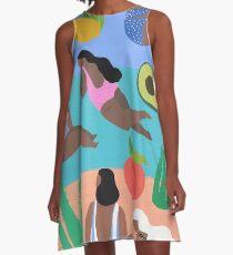 Fruity beach A-Line Dress