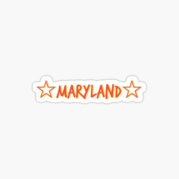 star maryland  Sticker