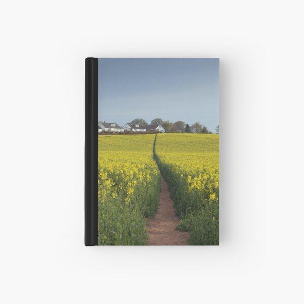 Brassica napus path Hardcover Journal