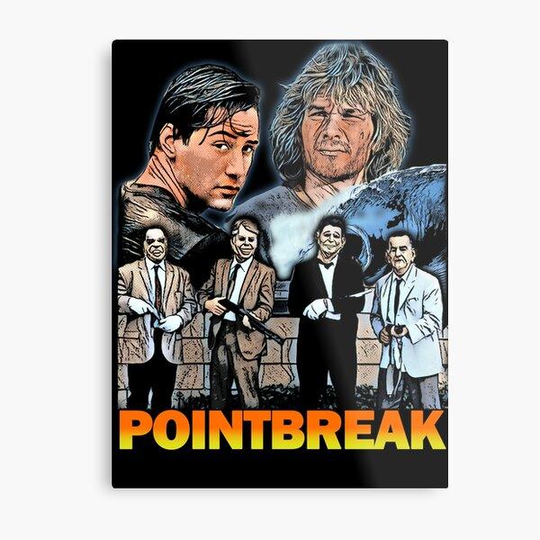 Point Break Metal Print