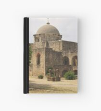 Back of Church at Mission San Jose Hardcover Journal