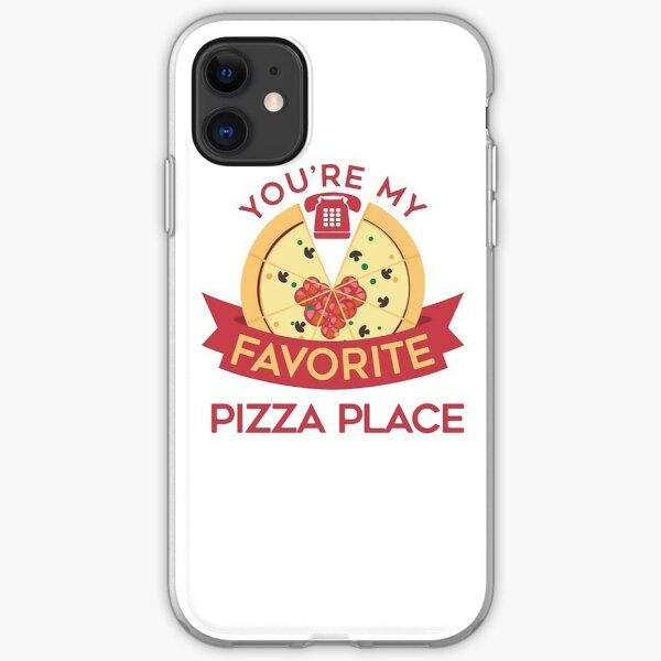 My Favorite Pizza Place iPhone Soft Case