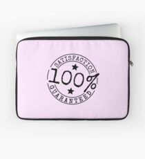 Satisfaction 100% Guaranteed by Chillee Wilson Laptop Sleeve