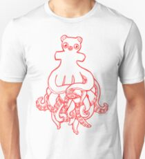 Octobear Lines Unisex T-Shirt