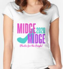 Midge/Midge 2020 Fitted Scoop T-Shirt
