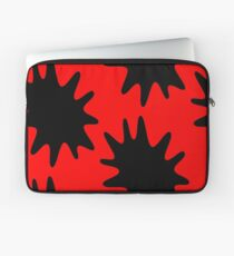 Ink Spatter by Chillee Wilson Laptop Sleeve