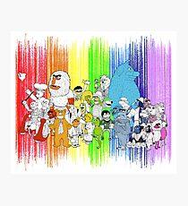 The Rainbow Connection Photographic Print